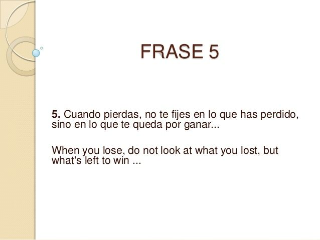 M s de 25 ideas incre bles sobre frases en ingles for En ingles frases