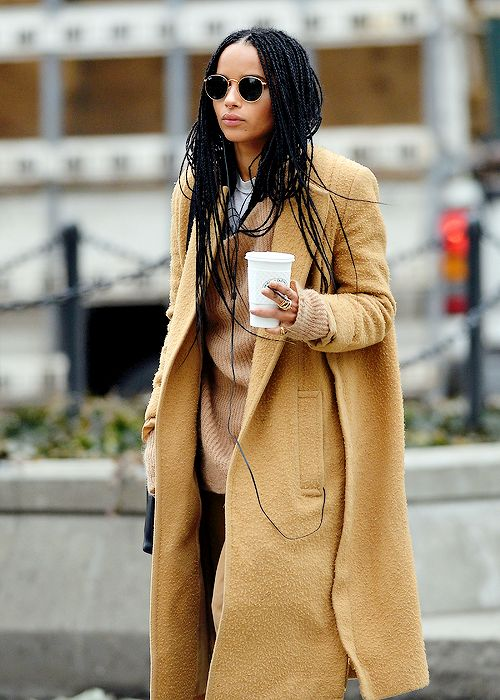 Zoe Kravitz out in SoHo