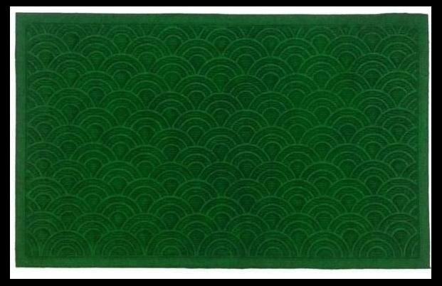 Synthetic Mat - Doormat - Green Shell