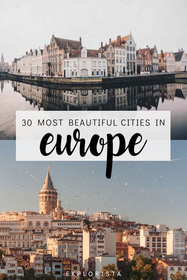 30 Most Beautiful Cities in Europe | EUROPE TRAVEL GUIDES | Europe
