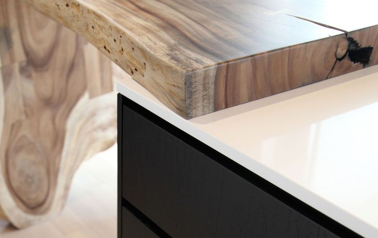 Kitchen / Countertop / Wood / Furniture / Contemporary / Architecture /  Design / Detail