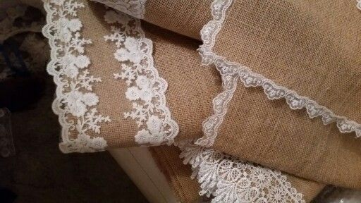 Table runners....rustic