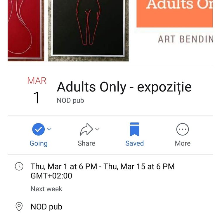 Adults Only- expo 1-30 Martie @NodPub Sibiu