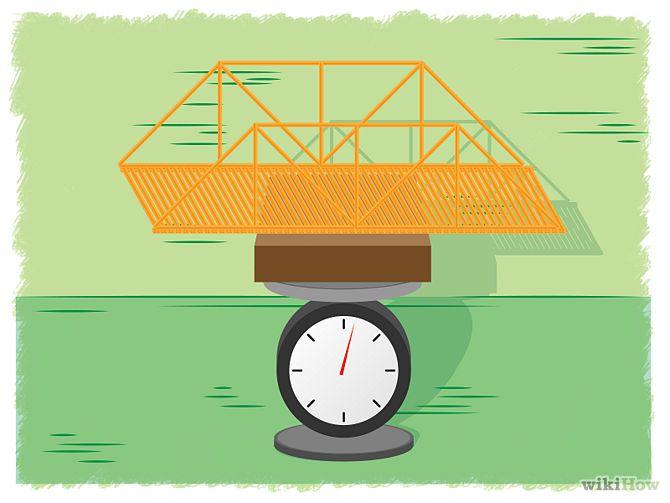 how to build a spaghetti bridge step by step