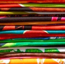 DIY fabric organizers