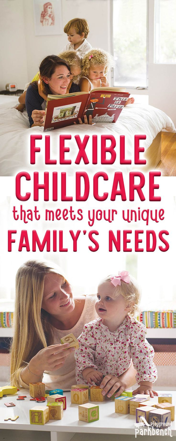 Are you currently evaluating childcare for your family? Looking for a flexible childcare option that meets your family's unique circumstances? Learn more about Au Pair Childcare - the flexible childcare option that may be the perfect fit for your family's needs #childcare #parenting  via @playgroundpb