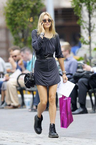 Jessica Hart Mini Dress