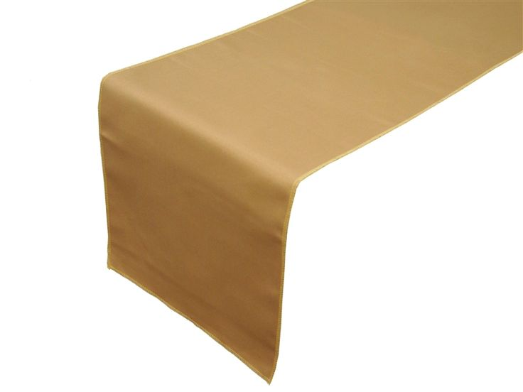 Table Runner (Polyester) - Antique Gold $1.49 each.  4 runners would be: $6