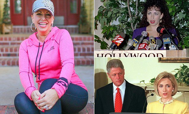 Paula Jones: Don't let danger to women Bill Clinton in the White House