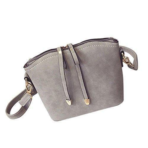 Oferta: 9.49€. Comprar Ofertas de LHWY Nuevas mujeres Bolso de hombro bolsas Tote bolso mensajero bolsa bolsa de cuerpo de la Cruz (plateado) barato. ¡Mira las ofertas!