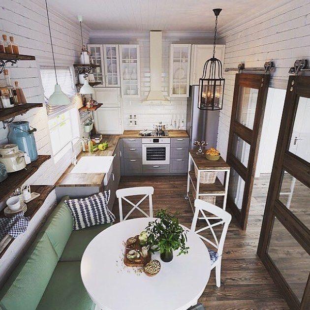 Kuchnia I Jadalnia W Jednym Idealny Mix Dla Niewielkich Mieszkan 3 Outdoor Furniture Sets Home New Homes