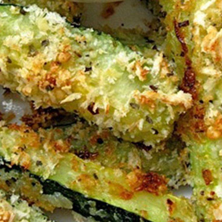 Number of Servings:1 Serving Size:1 medium zucchini Ingredients: 1 medium Zucchini (2 cups) 1 egg white-lightly beaten 1 package Profile Light Bite O's Sour Cream and Onion or BBQ 1 T Parmesan Cheese finely grated Cooking spray 2 tablespoons chopped...