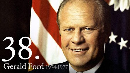 "Gerald R. Ford - When Gerald R. Ford took the oath of office on August 9, 1974, he declared, ""I assume the Presidency under extraordinary circumstances.... This is an hour of history that troubles our minds and hurts our hearts."""