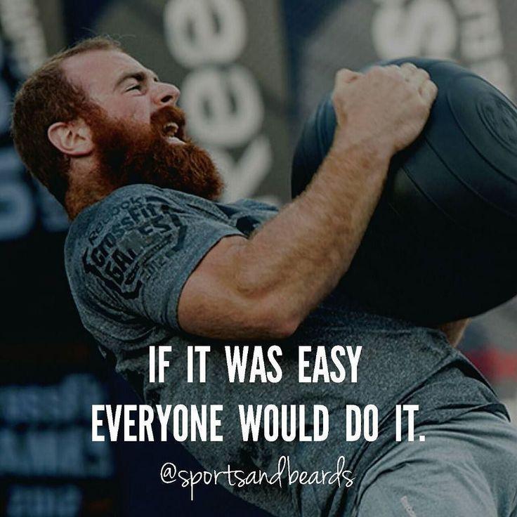 Si fuera fácil todo el mundo lo haría. Lucas parker - Crossfit  #sportsandbeards…