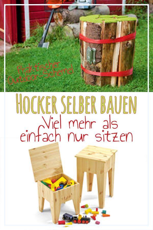 hocker selber bauen tische st hle hocker selber. Black Bedroom Furniture Sets. Home Design Ideas