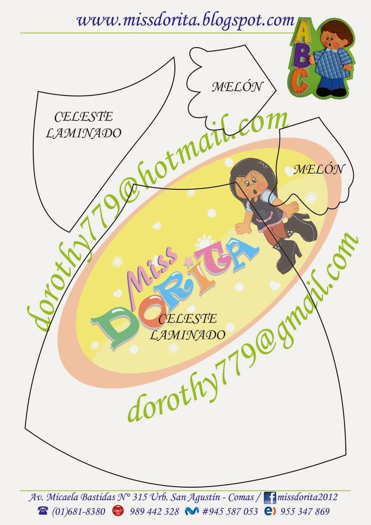 Miss Dorita: Paneles