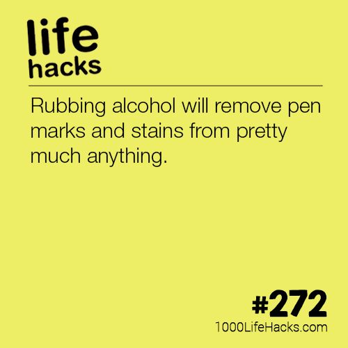 The post How To Remove Pen Stains appeared first on 1000 Life Hacks.