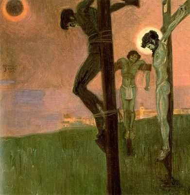 Crucifixion, par Egon Schiele