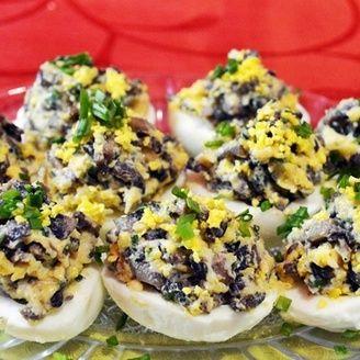 Фаршированные яйца - шикарная праздничная закуска