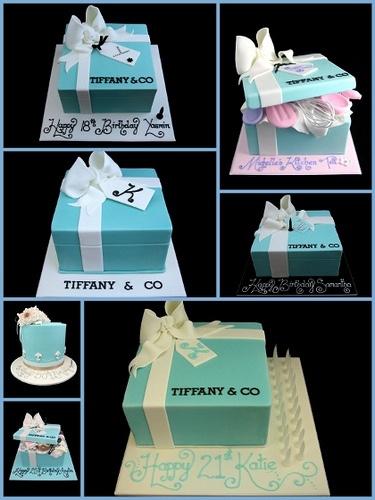 Le gâteau Tiffany