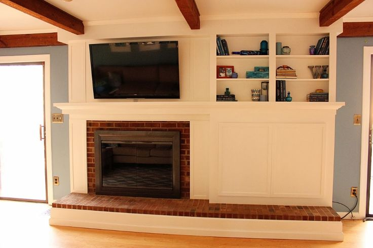 Do it yourself fireplace remodels fireplace facade