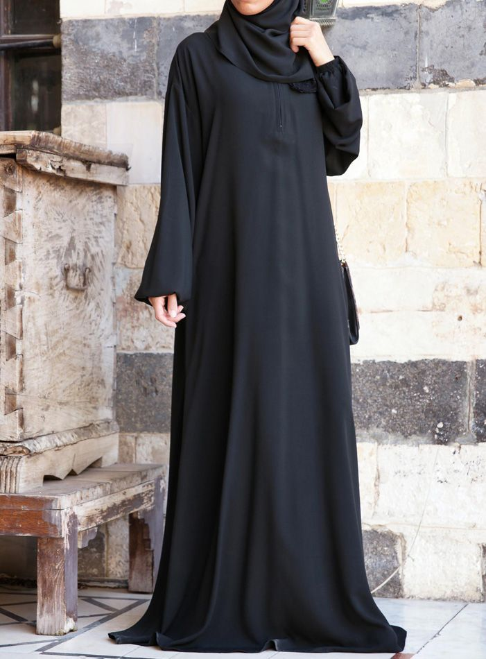 Hijab Fashion 2016/2017: SHUKR USA | One-Piece Abaya and Prayer Outfit  Hijab Fashion 2016/2017: Sélection de looks tendances spécial voilées Look Descreption SHUKR USA | One-Piece Abaya and Prayer Outfit