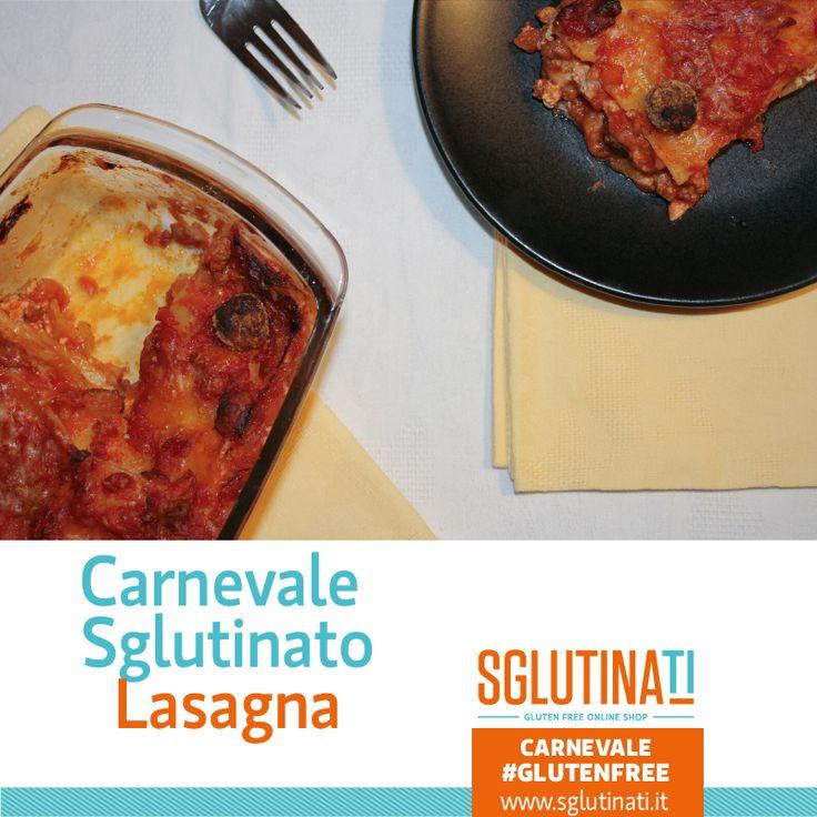"""Buon Carnevale Sglutinato a tutti voi! Celebriamo il Martedi Grasso, il giorno più gustoso del Carnevale, con un must della cucina napoletana la Lasagna gluten free! """"La lasagna non deve essere bella ma buona"""" Cit.La Nonna Scopriamo insieme come preparare questa bontà http://sglutinati.it/blog/sglutinaticarnevalelelasagnaglutenfree/ #instafood #glutenfree #carnevalesglutinato #sglutinati #celiachia #senzaglutine"""