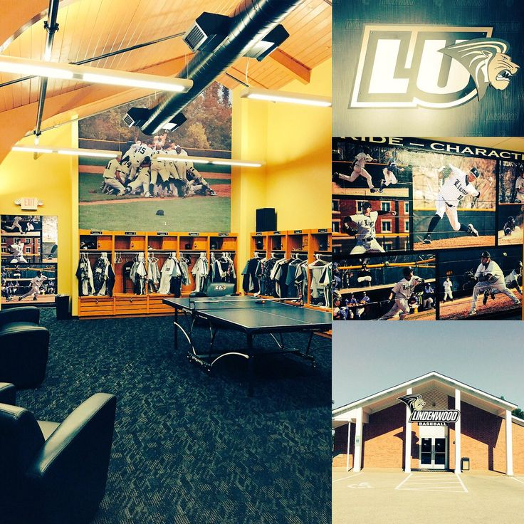 Heres A Quick Behind The Scenes Look Of Lindenwood Baseballs Clubhouse And Locker Room