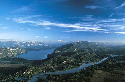 Lac du bourget et Rhône