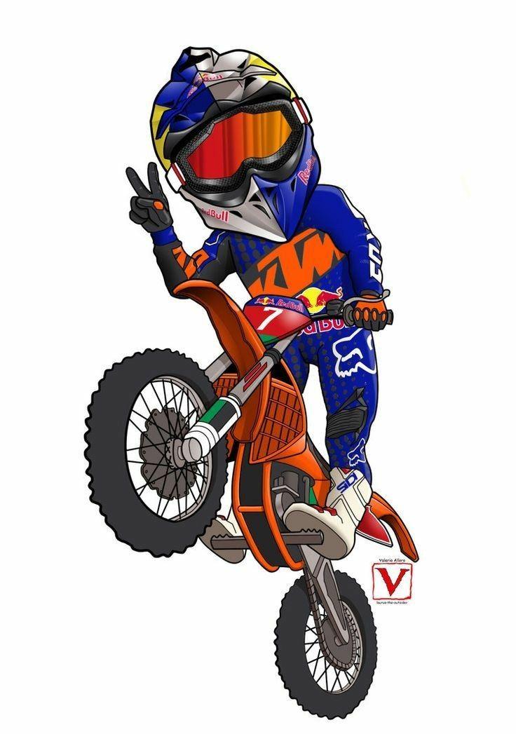 Pin Di Gianfranco Visualteam Agostini Su Motocross