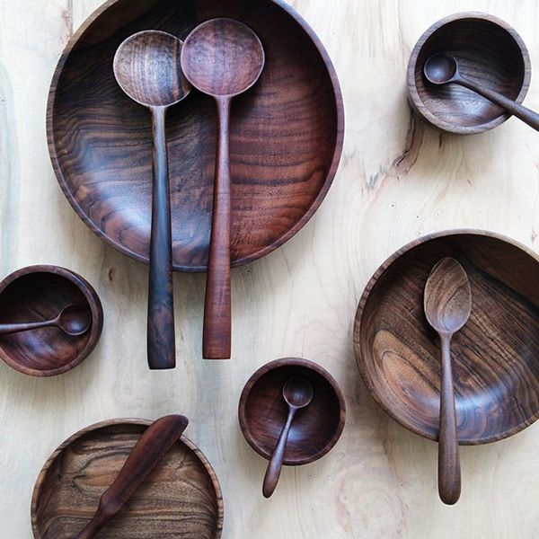ariele alasko bowls and spoons.