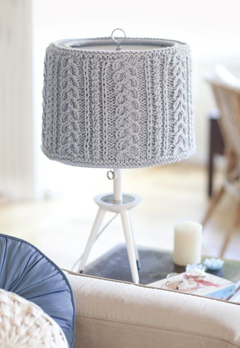 Best Crochet Lampshades Images On Pinterest Crochet - Diy cloud like yarn lampshade