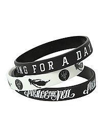 Jewelry Rubber Bracelets Wristbands For Guys S Hot Topic