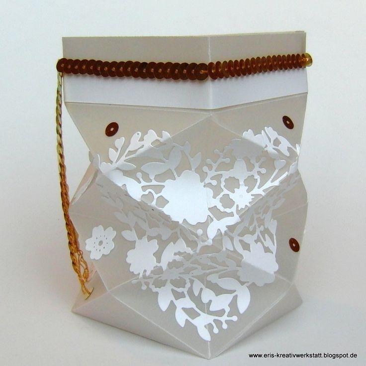 """#Knicklicht mit """"Blühendem #Herz"""" - passend zur Hochzeitskarte   http://eris-kreativwerkstatt.blogspot.de/2016/01/knicklicht-mit-bluhendem-herz-passend.html  #stampinup #teamstampingart #heimdeko #homedeko #hochzeit #windlicht"""