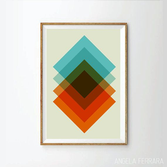 Hey, I found this really awesome Etsy listing at https://www.etsy.com/listing/196288763/abstract-print-poster-mid-century-print