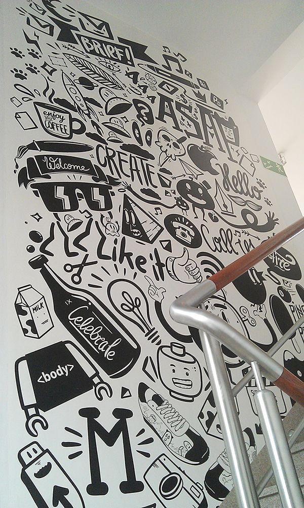Agency life by Piotr Jakubowski, via Behance