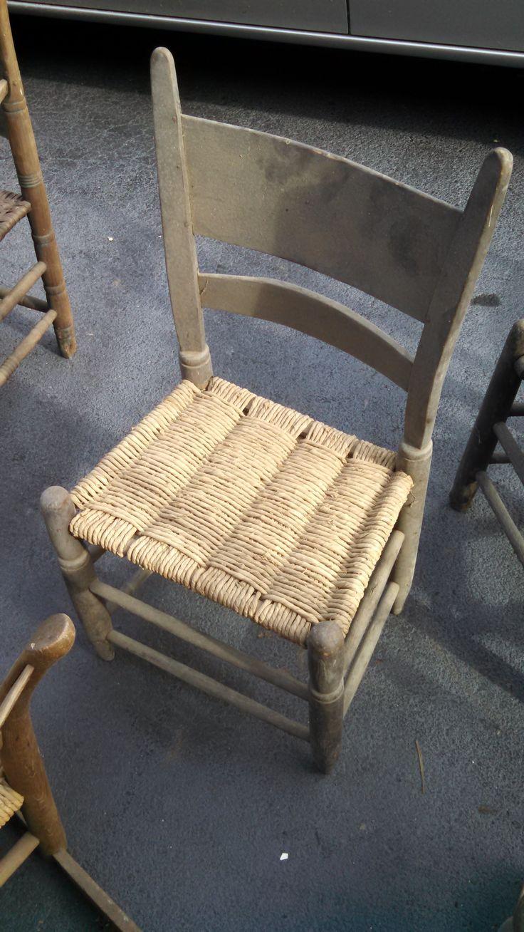 Chair Found Recently Near Nashville....cornshuck Bottom Looks Original.  Williamson County, TN?