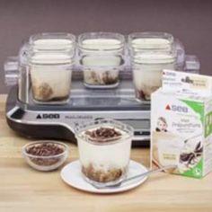 Découvrez la recette du yaourt Délice Vanille, façon Tiramisu, réalisé avec la Yaourtière Multi Délices de Seb, un vrai régal