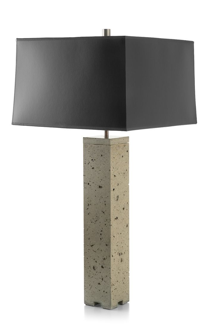 78 best lighting images on pinterest table lamps concrete and this concrete table lamp suggests strength inherent in the material itself its simple unassuming form is minimalist in style and rich in natural orga geotapseo Gallery