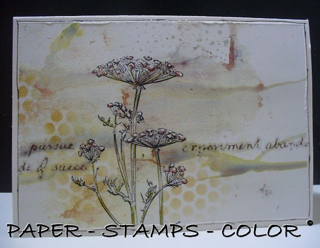 PAPER - STAMPS - COLOR