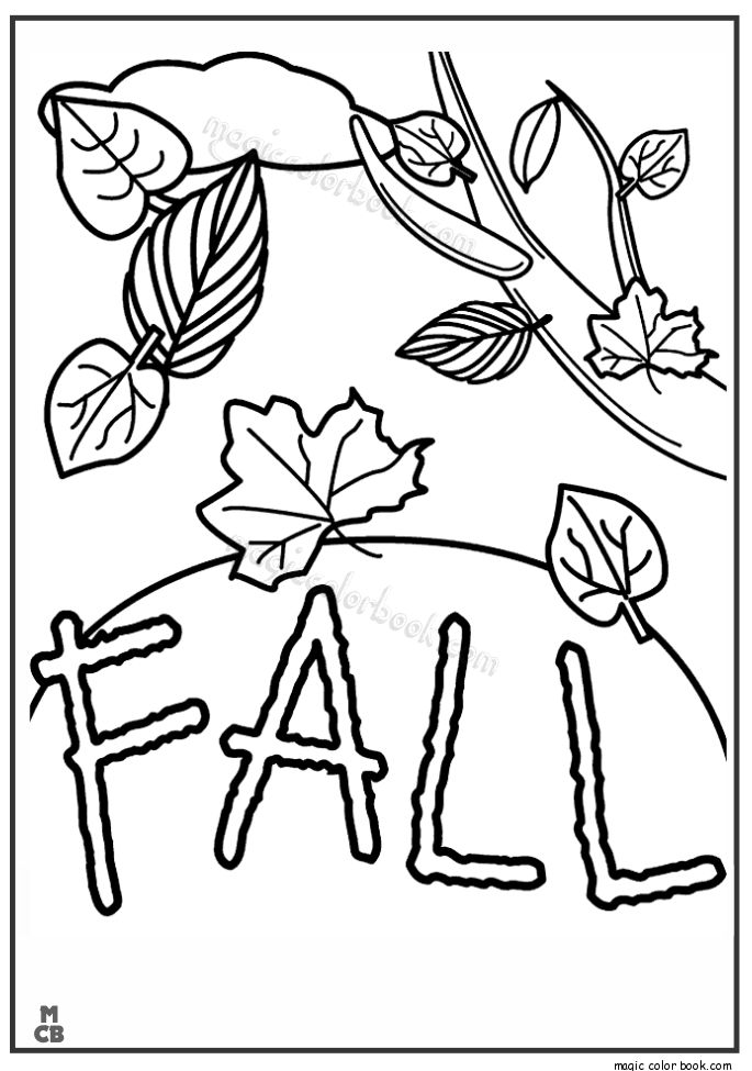 Autumn coloring page free for print 05