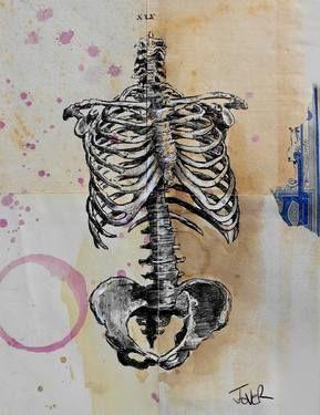 "Saatchi Art Artist Loui Jover; Drawing, ""cage"" #art"
