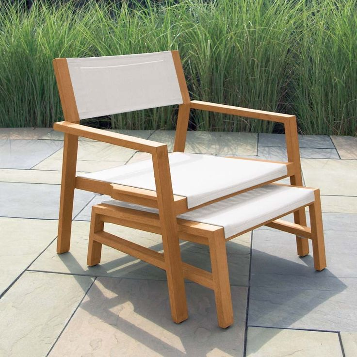Sleek, Modern Lines Meets Solid Teak And Durable, Outdoor Mesh With The  Summit Stacking