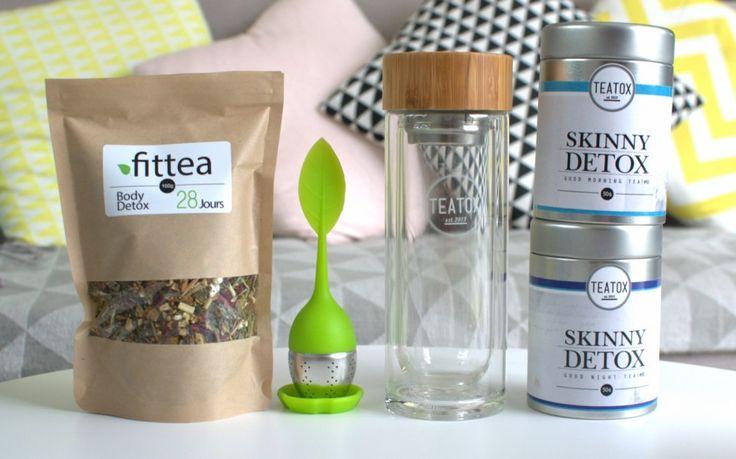 Battle de thés detox : Fittea VS Teatox