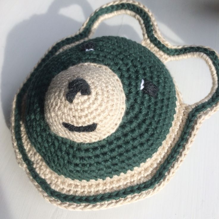 Crochet bear babytoy