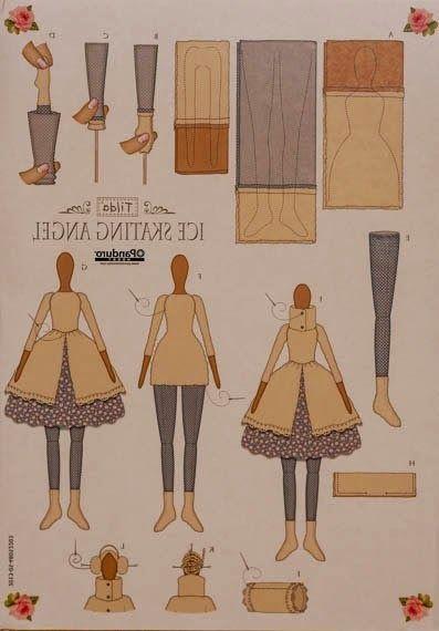 Mimin Dolls: Tilda do inverno