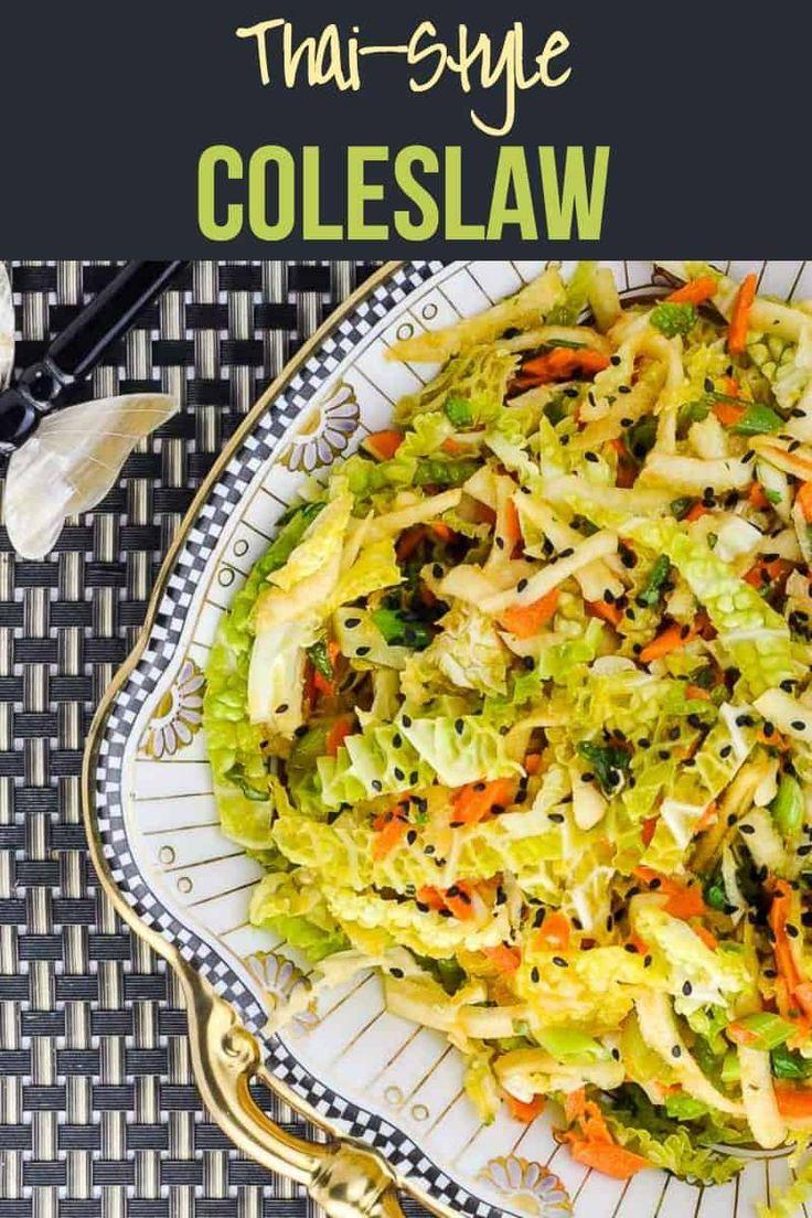 Thai-Style Coleslaw with Kohlrabi – SALADS