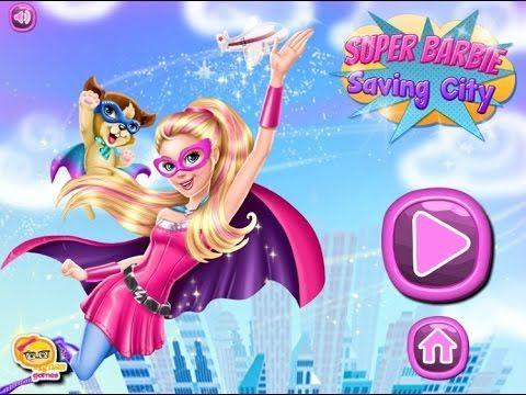 Super Barbie Saving City - Game Tutorial 2016