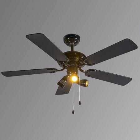 Takfläkt med belysning 'Mistral 42' Nej metall - Passande för LED / Inomhus