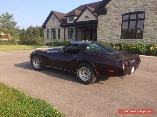 1980 Chevrolet Corvette #chevrolet #corvette #forsale #canada